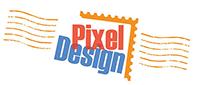 Pixel Design • Montréal Canada | Cartes de souhaits numériques Logo